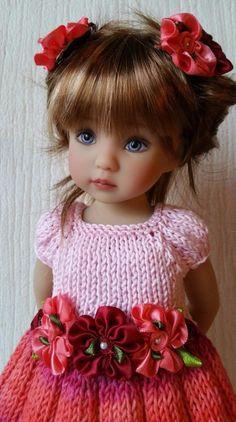 Beautiful Dianna Effner doll