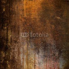 Fotobehang vintage hout en metaal