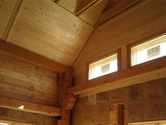 Tongue and Groove Kitchen | Cedar Tongue and Groove Ceiling