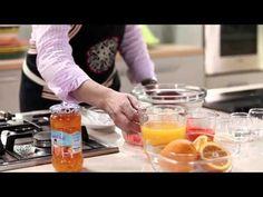 Choumicha : Sorbet à l'orange et à la carotte شميشة : مثلجة البرتقال وال...