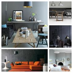 Choosing the right shade of grey paint depends on many factors, not least of which is the direction the room faces. North will need a warmer tone than south Farrow And Ball Living Room, Living Room Accents, Living Room Paint, Living Rooms, Room Colors, Wall Colors, Shades Of Grey Paint, 50 Shades, Mad About The House