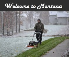 Funniest photos that will make you say Meanwhile in Canada. Canada, a north american country is a beautiful place. There are many funny Ohio Memes, Friday Funny Pictures, Funny Pics, Minnesota, Ohio Weather, Montana Weather, April Weather, Meanwhile In Canada, Lawn