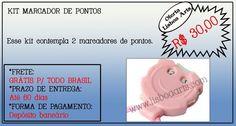 Kit marcador de pontos - 2 peças - Lisboa Art's