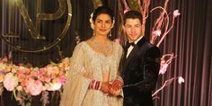 Priyanka Chopra included a romantic hidden tribute, a guitar, to her husband Nick Jonas in her traditional wedding henna. Nick Jonas, Priyanka Chopra Wedding, Wedding Reception, Wedding Day, Marriage Reception, Wedding Photos, Native American Wedding, Wedding Henna, Glamour