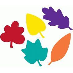Silhouette Design Store - View Design #63512: leaves