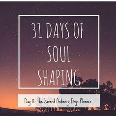 The Sacred Ordinary Days planner rocks!
