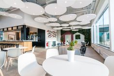 Ideas AB designed the offices for real estate companyRiksbyggen, located inVästerås, Sweden. The office is a lush dream full of playful details. Here you are met by the bright and…
