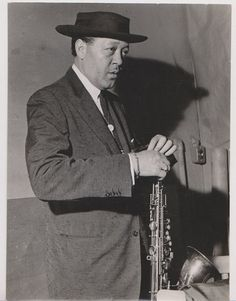 Lester Young and his Pork Pie Hat