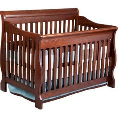 Delta Canton 4-in-1 Convertible Crib, Cherry --- http://bizz.mx/j4i