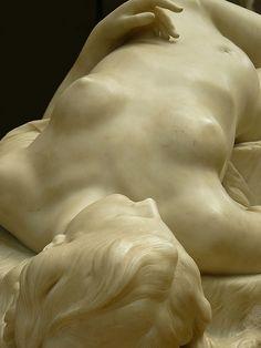 La jeune Tarentine by Alexander Schoenewerk 1871 Marble