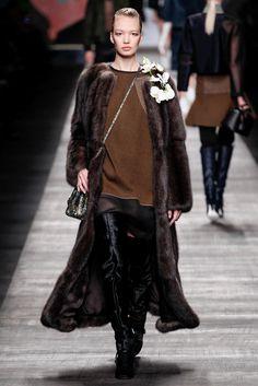 Fendi Fall 2014 Ready-to-Wear Fashion Show - Kid Plotnikova