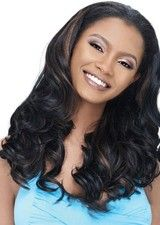 Sweet Lace Front Long Body Wave No Bangs Wig