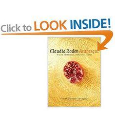 Arabesque: quando si dice Claudia Roden si dice di un mondo.  Non ho questo libro ma ne ho molti della stessa autrice. Ottimi tutti.