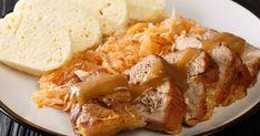 Česká klasika tentoraz zpliecka. Klasika nielen na nedeľný obed. Pork Recipes, Mashed Potatoes, Chicken, Meat, Ethnic Recipes, Ukraine, Polish, Whipped Potatoes
