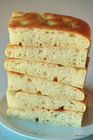 Pan di Pane: Ricetta Impasto per focaccia o pizza con farro.