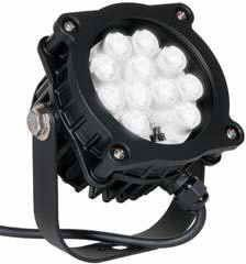 """Dock Light , Safety Black Finish, Flood Light 16-watt LED can de for Flag Pole by Anyray. $159.00. LED Dock Light Photometrics   Fixture Dimensions       Attaches directly to current dock light arm for easy retrofit.     6 foot power cord with 5-15 straight blade plug or IEC 60320 - C14 Plug.     100 - 240 Volt     High intensity LED with low power consumption.     LED life = 50,000 hours.     IP 65 Rated (Short Term Submersible).     """"Safety Yellow"""" epoxy powder coat.     High i..."""