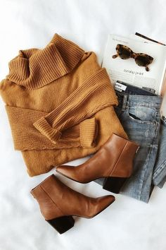 Source by wintermode Fall Winter Outfits, Autumn Winter Fashion, Casual Winter, Winter Wear, Brown Boots Outfit Winter, Autumn Style, Look Fashion, Fashion Outfits, Fashion Fall