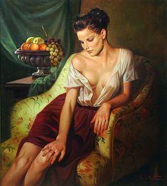 Lucio Amitrano, 1950 ~ Figurative painter