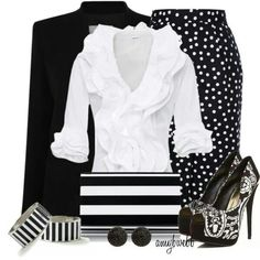 Can never go wrong with Black snd White