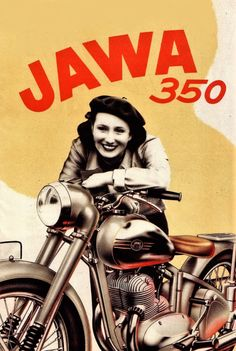 JAWA Motorcycles Emerged from Behind the Iron Curtain Vespa Vintage, Vintage Bikes, Motorcycle Posters, Retro Motorcycle, Triumph Motorcycles, Retro Advertising, Vintage Advertisements, Motocross, Ducati