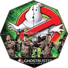 Custom Action Game Ghostbusters The Video Game Portable Fashion Foldable Umbrella by Umbrellas @ niftywarehouse.com