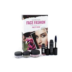 BareMinerals Face Fashion Collection - The Look Of Now Pretty Wild: 1x Blush 0.57g/0.02oz ( # Floret ) 2x Eye Color 0.28g/0.01oz ( # Violetta, # Greenhouse ) 1x