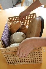<handcraft shop> MONO STYLE 竹の洗いかご