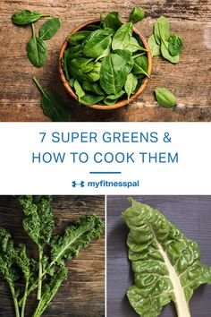 There is more to super greens that smoothies and salads. Throw them in soup, stir-fry, slaw and a variety of one-pan meals. Healthy Cooking, Cooking Tips, Cooking Recipes, Healthy Meals, Sugar Busters, Fruits And Veggies, Vegetables, Super Greens, Meal Deal