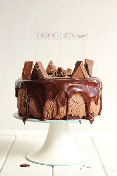 Toblerone Ice cream cake ♥