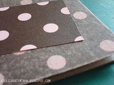 Alterando papéis decorados #PP #tutorial #papercraft #DIY