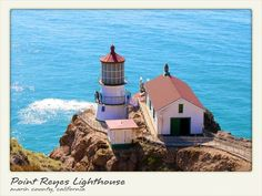 The Point Reyes Light was built in 1870 to protect mariners from the treacherously foggy Point...