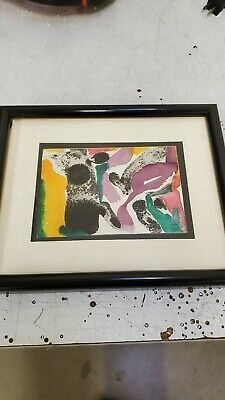 David Newman Original Watercolor Painting from his wife's collection. Amazing original watercolor from Davids personal collection. Framed and matted x . Watercolor Landscape, Abstract Watercolor, Watercolor Paintings, Ebay Paintings, Sea And Ocean, Framed Art, Original Art, David, Hand Painted