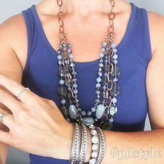Tone on tone = gorgeous #pdstyle Premier Designs Jewelry by Shawna Digital Catalog: http://shawnawatson.mypremierdesigns.com/ Facebook: https://www.facebook.com/WatsontrendwithShawna #pdstyle #jewelryladylife