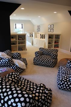 Essex Homes - Katherine Model - Bonus Room - Teen Hang Out Room - Playroom - Bunk Room - Bunk Beds - Four Beds - Built In Beds