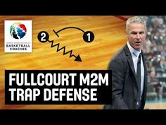 Full-Court Man to Man Trapping Defense - Dean Demopoulos - Basketball Fundamentals Basketball Systems, Basketball Workouts, Basketball Conditioning, Basket Ball, Dean, Coaching, Training, Youtube, Work Outs