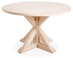 Alice Round Dining Table, Sand