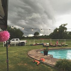 """""""The beautiful storm that rolled in on last night's party. It came a downpour,but #itdidntrainonourparade!"""" Photo taken by @cassiebshelton on Instagram, pinned via the InstaPin iOS App! http://www.instapinapp.com (06/14/2015)"""