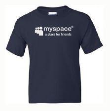 Myspace social networking website t-shirt