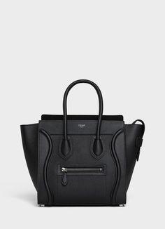 cee4108b0af0 Micro Luggage handbag in drummed calfskin