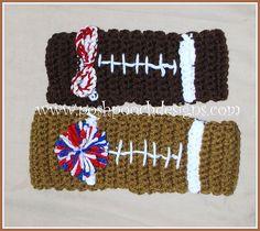 Ravelry: Football Headband pattern by Sara Sach
