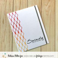 – Encouragement Challenge (Mel's Card Corner) Melissa Miller, Die Cut Cards, Card Maker, You're Awesome, Breast Cancer Awareness, Encouragement, Challenges, Stamp, Card Ideas