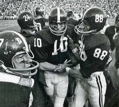 Former University of Alabama Coach - Ray Perkins # 88 as a player for UA