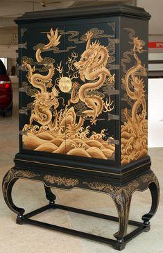 chinoiserie furniture | EasternCurio.com|Chinese Chinoiserie Furniture Lacquare Ware ...
