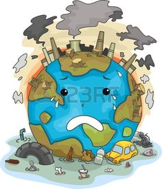 Illustration Of Crying Earth Due To Pollution Stock Photo, Picture And Royalty Free Image. Save Mother Earth, Save Our Earth, Save Earth Drawing, Save Water Poster Drawing, Air Pollution Poster, Save Earth Posters, Earth Drawings, Pollution Prevention, Environmental Pollution