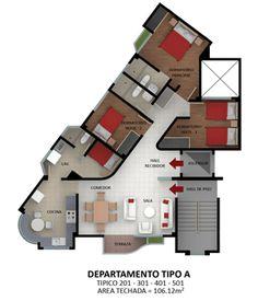 planos-departamentos-esquina-106m2