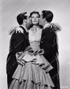 Cary Grant Katharine Hepburn Jimmy James Stewart in The Philadelphia Story 1444-32