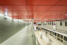 LCR architectes jean-jaures subway station paris