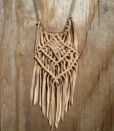 macrame is awesome. don't even worry about it.