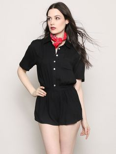 Over And Out Romper - Gypsy Warrior