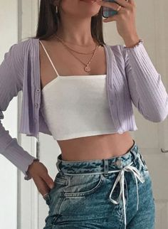 Adrette Outfits, Neue Outfits, Teen Fashion Outfits, Retro Outfits, Girly Outfits, Cute Casual Outfits, Look Fashion, Stylish Outfits, Teenager Outfits